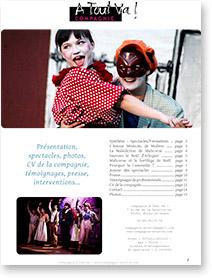 Dossier de présentation de la compagnie A Tout Va !