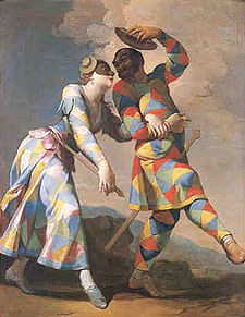 Commedia dell'Arte par Giovanni Domenico Ferretti