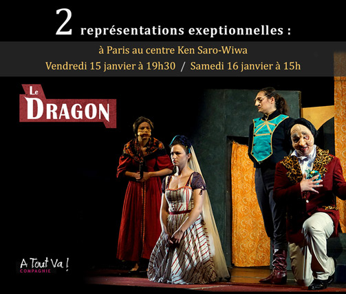 Spectacle Le Dragon à Paris