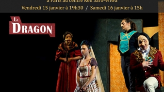 2 représentations du Dragon à Paris