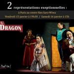 Spectacle Le Dragon à Paris